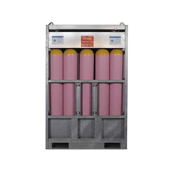 4126 Özel Gaz Karışımı - 114,42 m3 Manifold (15 Tüp) 175 Bar
