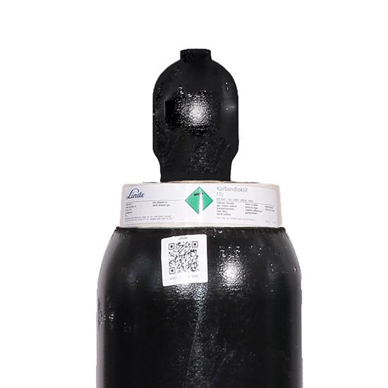 Saf Karbondioksit 15 kg - Tüp (25 Litre)