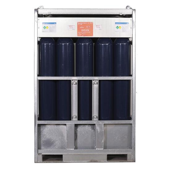 Saf Oksijen 180.75 m3 - Manifold (15 Tüp)