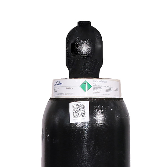 Saf Karbondioksit 18 kg - Tüp (25 Litre)
