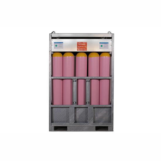 4126 Özel Gaz Karışımı - 142,95 m3  Manifold ( 15 Tüp) 200 Bar
