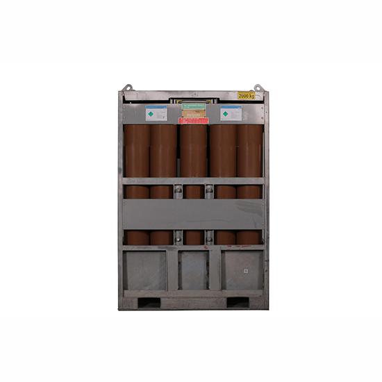 Helyum 136.8 m3 - Manifold (15 Tüp)
