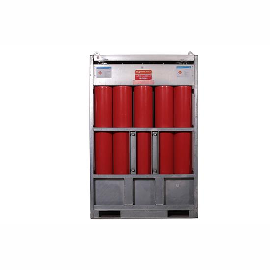 90 YMTP / Hidrojen 133.20 m3 - Manifold ( 15 Tüp)